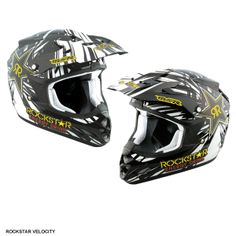 MSR Youth Velocity Off Road MX Helmet - Rockstar