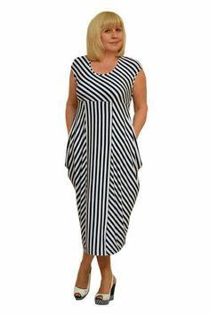 Sewing clothes women plus size shape Best Ideas Simple Dresses, Nice Dresses, Casual Dresses, Sewing Clothes Women, Clothes For Women, Boho Fashion, Fashion Looks, Womens Fashion, Apple Shape Fashion