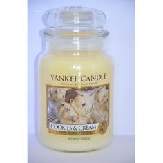 Grande Jarre COOKIES & CREAM Yankee Candle large jar exclu US USA