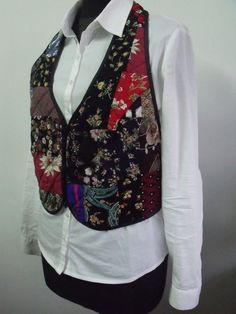 patchwork vests and jackets - Google Search
