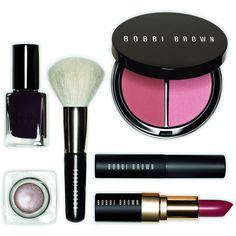 Bobbi Brown Limited Edition Bobbi Runway Beauty Secrets Set (330 BRL) ❤ liked on Polyvore featuring beauty products, makeup, beauty, cosmetics, accessories, maquiagem, backgrounds, blending brush, long wear makeup and bobbi brown cosmetics