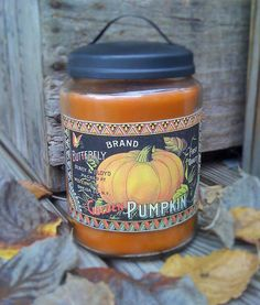 26oz Apothecary Jar Candle  Soy  Handmade  by DebsCandlesandDreams