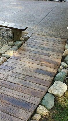 Stamped concrete patio ideas - Take care of the latest trends when dealing with your home hasn\'t become dated. Look at other people\'s decorating ideas. Wood Stamped Concrete, Concrete Design, Concrete Stamping, Concrete Texture, Stamped Concrete Patterns, Decorative Concrete, Concrete Projects, Stained Concrete, Cement