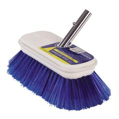 Swobbit in Extra Soft Premium Deck Brush - Blue Deck Brush, Push Broom, Soft Purple, Shop Usa, Beauty Care, It Is Finished, Cleaning, Products, Metals