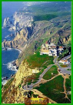 Cabo da Roca, Portugal Portugal Travel Für Informationen Zugriff auf unsere Website http://storelatina.com/portugal/travelling #recipes #Португалія #Portogallo #portugalia