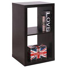 SM Modulo 41X39X76 cm Chocolate Chocolate, Bookcase, Loft Ideas, Shelves, Home Decor, Shelving Brackets, Objects, Crates, Home