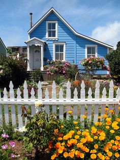 Mendocino, California cottage