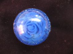 Fantaisie flower and glitters resin ring by LesBijouxDesZotonis