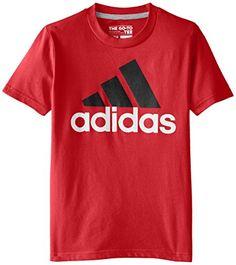 adidas Big Boys' Logo Short-Sleeve T-Shirt, Light Scarlet... https://www.amazon.com/dp/B00U0XO3A0/ref=cm_sw_r_pi_dp_x_VOa3yb1V9NPNR