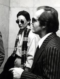 Angelica Houston and Jack Nicholson
