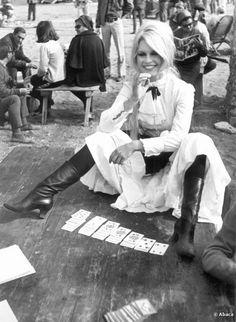 brigitte bardot on set | Brigitte Bardot on the set of 'Shalako' (1968)