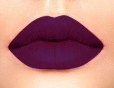 I really like this purple lipstick