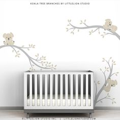 Super cute -one day  Baby Nursery Wall Decal Pastel Colors Baby Decor by TheKoalaStore, $79.00