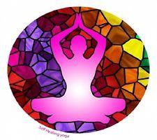 Fensterbild Selbstheilung Yoga