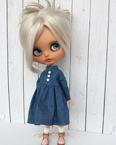 Ooak Dolls, Blythe Dolls, Gothic Dolls, Doll Tutorial, Different Hairstyles, Hello Dolly, Knitted Dolls, Little Darlings, Cute Dolls