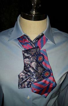 Custom designed neck tie accessories for women