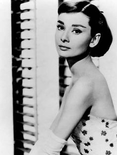 I love Audrey Hepburn's hairstyle.  It's classic.