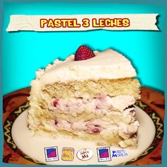 Esponjoso y jugoso pastel, bañado en una exquisita mezcla de leche condensada, leche evaporada y crema para batir. ¡Endulza la vida!