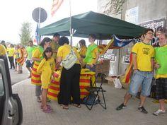 #tram213 #tram214 #Viacatalana #11s2013 Foto de Pilar B