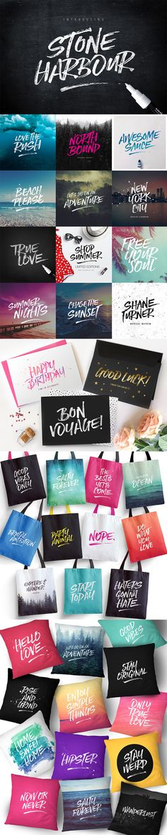 The Font Lover's Bundle (20 Font Families, 280+ Individual Fonts) « Design Cuts