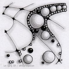 one zentangle a day: day 13 © Lori Byerly