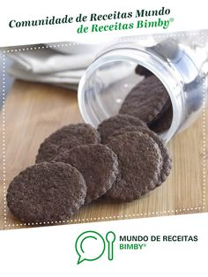 Bolachas de chocolate de Equipa Bimby. Receita Bimby<sup>®</sup> na categoria Bolos e Biscoitos do www.mundodereceitasbimby.com.pt, A Comunidade de Receitas Bimby<sup>®</sup>.