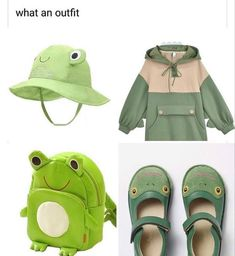 Kawaii Fashion, Cute Fashion, Fashion Outfits, Cute Casual Outfits, Pretty Outfits, Cute Frogs, Drawing Clothes, Kawaii Clothes, Cosplay Outfits