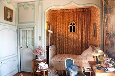 the author George Sand's bedroom