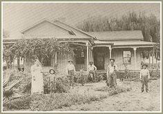 William Orr Home, Norwalk, CA by ozfan22, via Flickr Santa Fe California, California History, Southern California, Norwalk California, Compton California, San Luis Obispo County, Western Riding, Farmhouse Remodel, Old Farm Houses