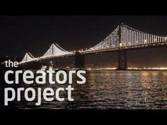 San Francisco's Bay Bridge Covered in 25,000 LEDs