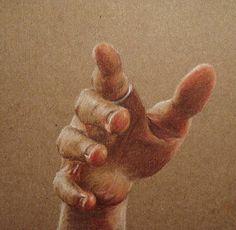 Lizz Conley, art, illustration, colored pencil drawing