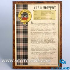Moffat Clan History Print