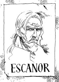 Who was in charge of these poster this looks nothing like either of Escanor's forms