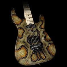 Fits Fender//Charvel Standard Stratocaster 3PLY Pick Guard Snakeskin Pattern