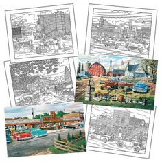 Ken Zylla Puzzle and Coloring Set