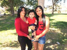 Las dos mamás de mi hijo Gastón...