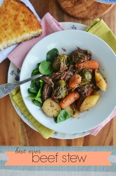 This is without a doubt my husband's favorite meal. This 'best ever beef stew' recipe has earned its name and has been perfected over years of trial and fuss! Add it to your fall menu plan! via lifeingrace