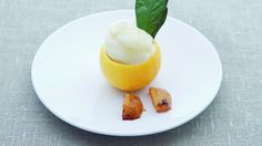 Appelsin- og sitronsorbet