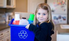 Does your family recycle? Ideas for getting the kids involved