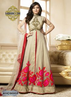 Shop Exclusive Anarkali Suits for your special occasions. At Haya Creations, you will find a splendid handpicked collection of Anarkali suits. Latest Anarkali Suits, Latest Salwar Suit Designs, Indian Dresses, Indian Outfits, Salwar Kameez Online Shopping, Indian Designer Suits, Desi Clothes, Indian Clothes, Silk Suit