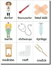 Doctor Crafts for Preschoolers | ... pictures and download the pdf file on my Doctor Preschool Pack page