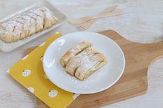 Ziet deze apfelstrudel er niet ontzettend leuk uit? Hoe leuk is het om zo'n apfelstrudel te serveren op bijvoorbeeld de paastafel? Deze apfelstrudel is trouwens ook nog eens heel erg lekker en natuurlijk ook simpel te bereiden. Op zoek naar meer paasrecepten? Klik dan hier. Recept voor 1 apfelstrudel Tijd: 15 min. + 20 min....Lees Meer » Delicious Cake Recipes, Yummy Cakes, Dessert Recipes, Apple Recipes, Sweet Recipes, Nutella Donuts, Best Sweets, Fancy Desserts, Eat Dessert First
