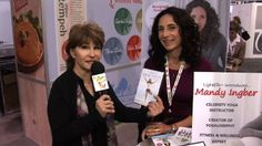 Mandy Ingber - Yogalosophy ~Marie talks with the yogini to celebs like Jennifer Aniston about her new book and DVD