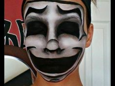 Easy Comedy Mask Face Painting Tutorial