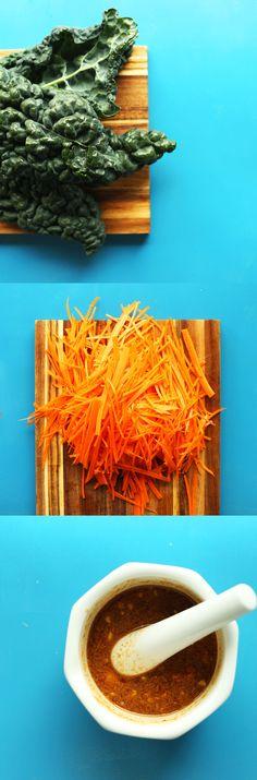 EASY Thai Carrot Sal