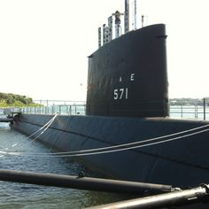 USS Nautilus at the Submarine Force Museum - Groton, CT