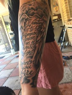 Jan 2018 - For my Dad huge Kurt Cobain fan. Done by Ben at Morrisseys Tattoo Couture Brisbane Half Sleeve Tattoo Stencils, Half Sleeve Tattoos Sketches, Half Sleeve Tattoos Forearm, Full Chest Tattoos, Torso Tattoos, Forearm Tattoo Quotes, Outer Forearm Tattoo, Skull Sleeve Tattoos, Half Sleeve Tattoos For Guys