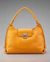 Ferragamo happy yellowy orange