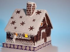 Saskatchewan Roughrider Gingerbread House — Gingerbread Houses