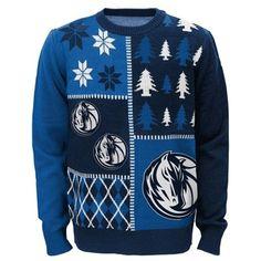 Dallas Mavericks Youth Ugly Sweater